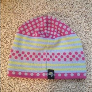 Mountain Hardware colorful knit stocking hat
